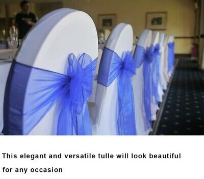 £1.25 • Buy 50-100 Chair Covers Spandex Stretch Wedding Banquet Anniversary Party Event Déco