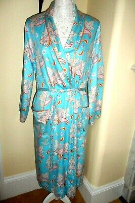 AU18.37 • Buy Beautiful Designer Dressing Gown By Rosch Size 14 Vgc