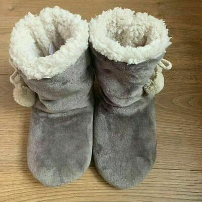 £8.99 • Buy Ladies Slippers Womens Fur Thermal Ankle Boots Warm Shoes Size Uk 3 4 5 6 7 8