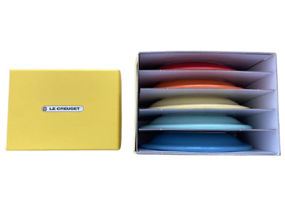 £72.53 • Buy Le Creuset Mini Oval Plate Rainbow Color Stoneware Set Of 5 New