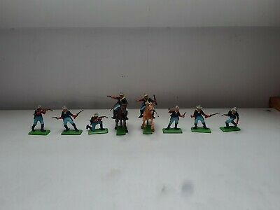 £8 • Buy Vintage Toy Soldiers. Britains Deetail. 7th Cavalry And Horses.