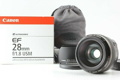 £317.12 • Buy [MINT In Box] Canon EF 28mm F/1.8 USM Wide Angle AF Lens From JAPAN 055