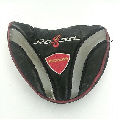 £9.42 • Buy TaylorMade Rossa Monza Corza Mallet Putter Head Cover ~ OEM Black HC ~ Rough