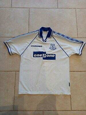 £4.20 • Buy Everton FC 1997-98 Away Football Shirt In Very Good Condition No Reserve