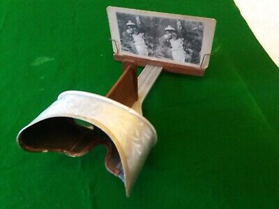 £82 • Buy Antique Stereoscope Viewer. Perfecscope Brand. USA C1902 With 10 Stereo Cards