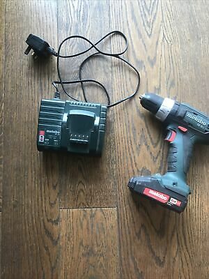 £45 • Buy Used Metabo SB 18 L Combi Drill With 1 X Battery And 1 Charger
