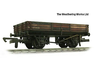 £17.99 • Buy Dapol 3 Plank 13t BR Bauxite Open Coal Stone Mineral Goods Wagon WEATHERED LOOK