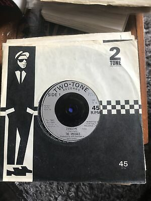 """£9.99 • Buy THE SPECIALS – Stereotype – TWO TONE 2-TONE Original 7"""" Vinyl Record"""