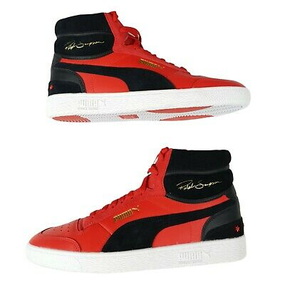 AU120.16 • Buy Puma Ralph Sampson Mid Chicago Shoes Sneakers Red/Black 372107-01 Men's Size 11