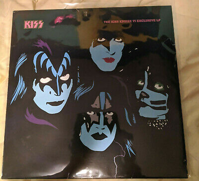 AU290 • Buy KISS - Kruise VI Red Vinyl 2500 Only Signed By All 4 Members
