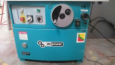 £2200 • Buy Used M Power Spindle Moulder With Power Feed And Various Accessories.