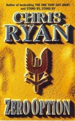 £4.99 • Buy Chris Ryan Zero Option Book (Hardcover 1997- First Edition) Signed By Chris Ryan