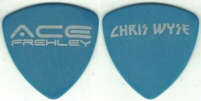 £3.62 • Buy Kiss-ace Frehley Solo Tour Guitar Pick-chris Wyse-blue/slver-hollywood Vampires!