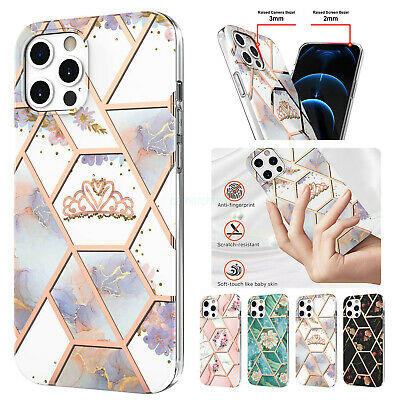 AU20.68 • Buy For IPhone 11 12 Pro Max XS XR 7 8 Plus Marble Silicone Shockproof Case Cover AU