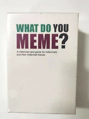 AU29.99 • Buy What Do You Meme? Main Game Party Game