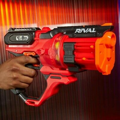 AU64.95 • Buy NEW NERF Rival Roundhouse XX-1500 Blaster E6638 Clear Rotating Chamber And Ammo