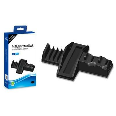 AU27.12 • Buy Dual Controller Charging Stand Vertical Holder With Cooler Fans For PS4/PS4 Pro