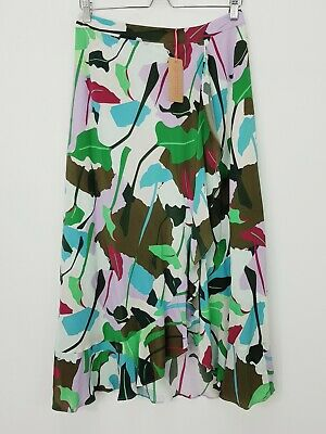 AU150 • Buy GORMAN Womens Size 12 Philodendron Silk Skirt NEW + TAGS RRP $199