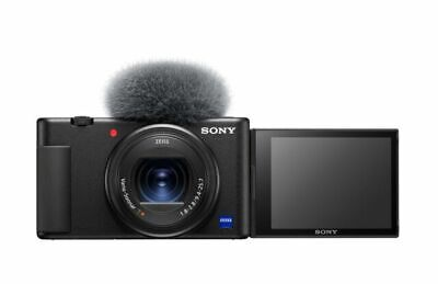 View Details SONY ZV1 High Performance Compact Vlogging Camera - Black  • 499£