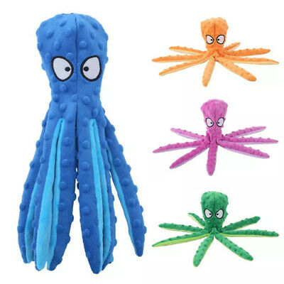 £9.40 • Buy Octopus Stuffed Dog Toys Outdoor Play Interactive Squeaky Dogs Chew Tooth Toy UK