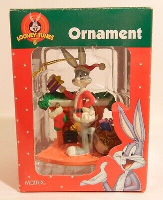 £7.26 • Buy Looney Tunes Ornament – Bugs Bunny Next To Fireplace – Matrix