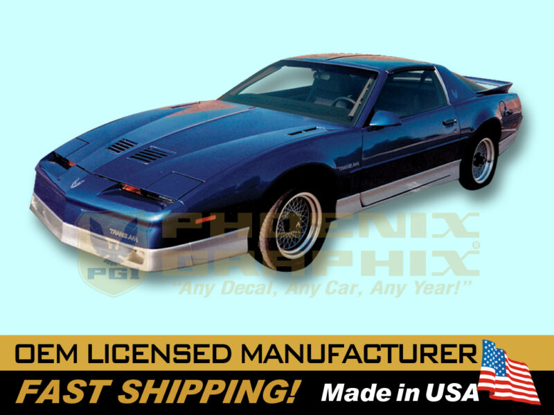 $89 • Buy 1987 1988 1989 1990 Pontiac Firebird Trans Am Decals & Stripes Kit