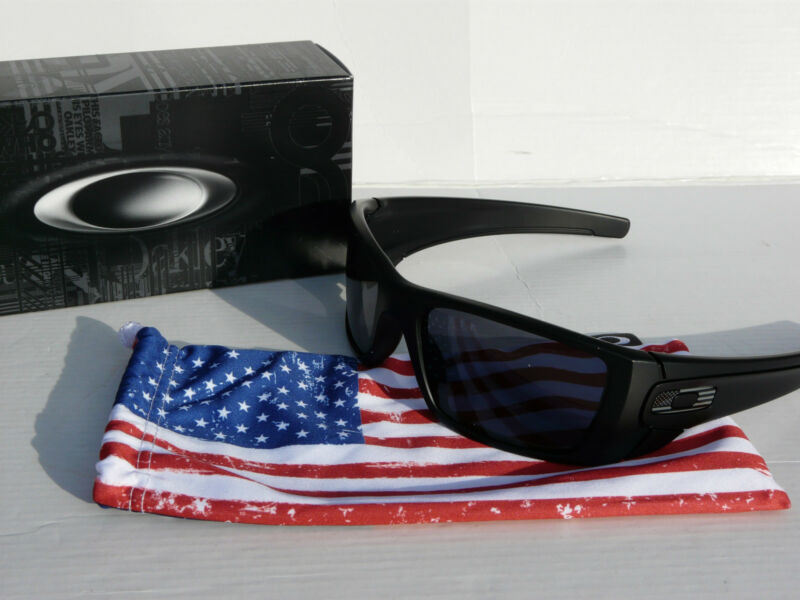 226fd4ff01 OAKLEY SI FUEL CELL Sunglasses Matte Black   Grey USA Military OO9096-29