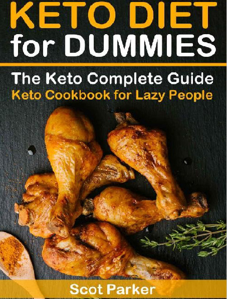 Keto Diet For Dummies The Keto Complete Guide & Keto Cookbook Recipes  I P D F • 1.99$