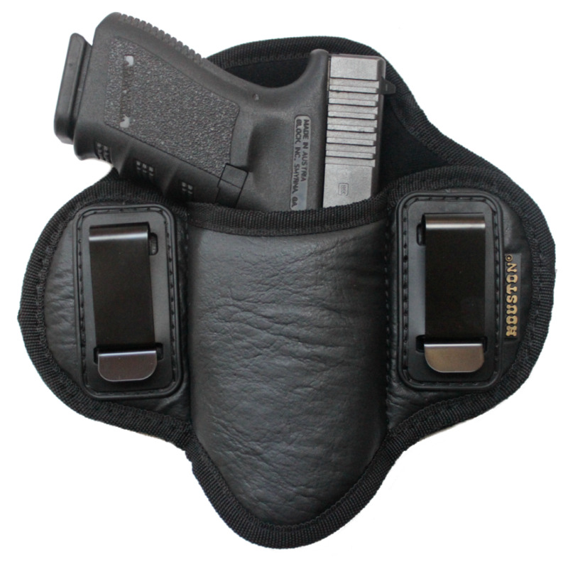 $19.95 • Buy Tactical Pancake Concealed Carry IWB Gun Holster Houston Leather - Choose Model