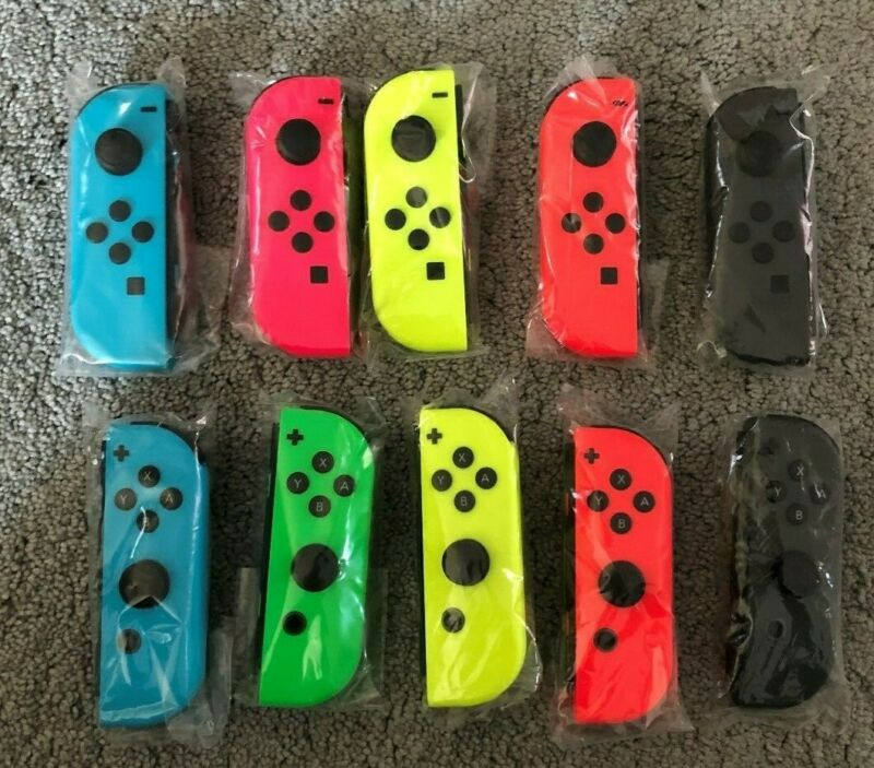 New Nintendo Switch Joy Con Low Prices Fast Shipping! Joy-Cons All Colors • 37.99$