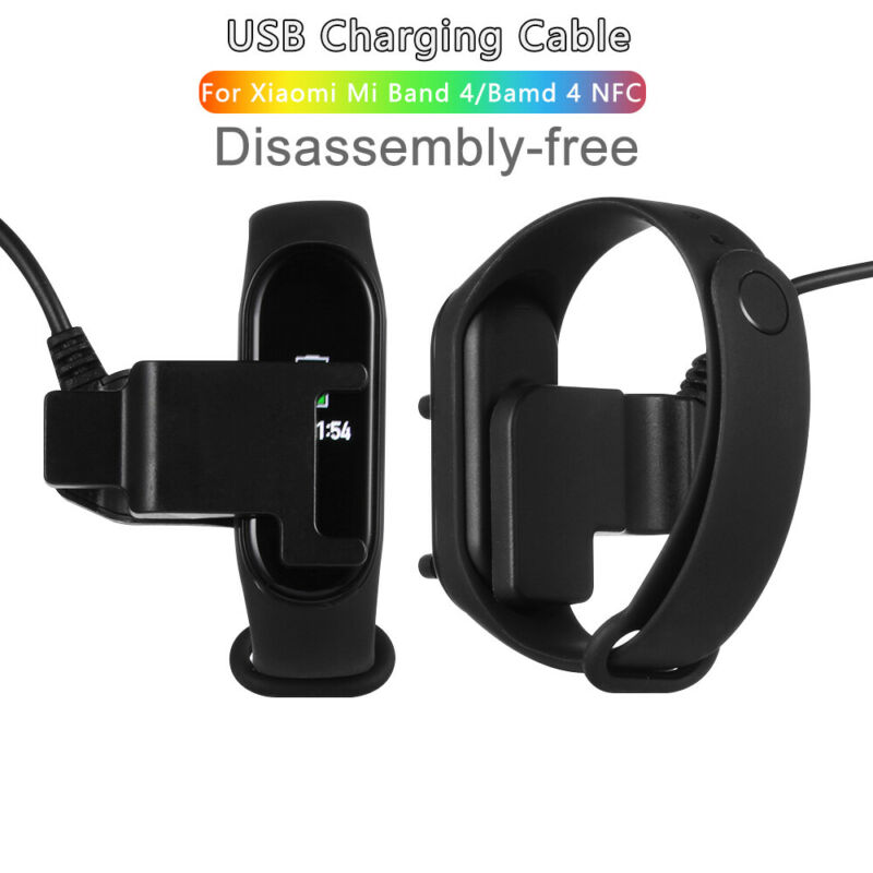 Clip Smart Band Charger Charging Cable Disassembly Free Xiaomi Mi Band 4 • 1.17$