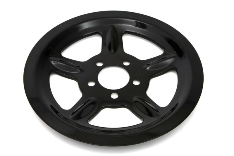 Black Cover For Rear 68 Tooth Pulley Harley Sportster 04-19 • 44.95$