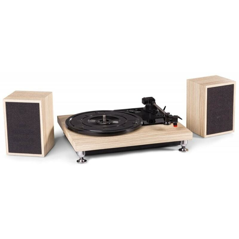 AU99 • Buy Fenton Wooden Finish Vinyl Record Player Turntable W/ Speakers & USB RP155