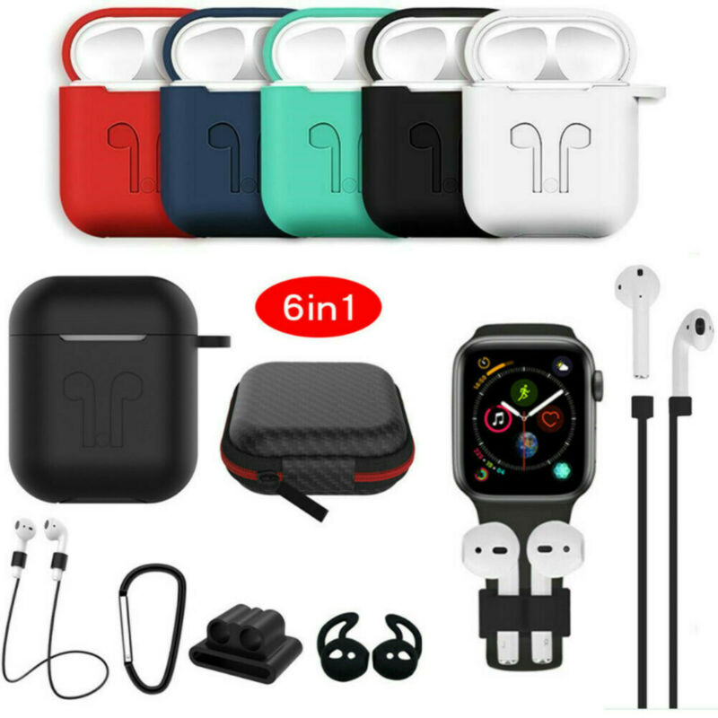 $ CDN3.90 • Buy For Apple AirPods Accessories Case Kits AirPod Earphone Charging Protector Cover