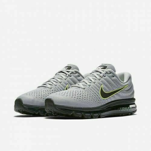 Nike Air Max 2017 Running Shoes Wolf Gray Black Platinum 849559-012 Men's NEW • 108.99$