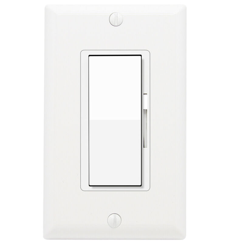 Dimmer Light Switch, 3 Way Universal Lighting Control Dimmable LED Halogen • 11.99$