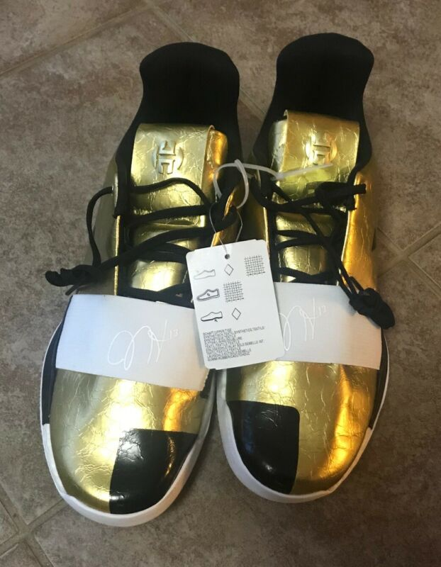 $ CDN119.99 • Buy New James HARDEN VOL. 3 'IMMA STAR' G54026 Gold Metallic / White / Black Sz 10