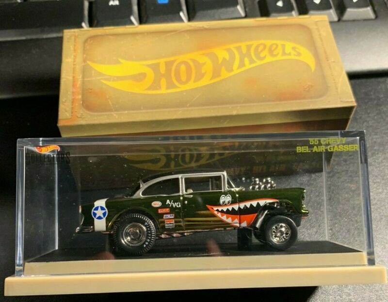 $159.99 • Buy 2019 Hot Wheels RLC '55 Chevy Bel Air Gasser WWII Flying Aces Tiger