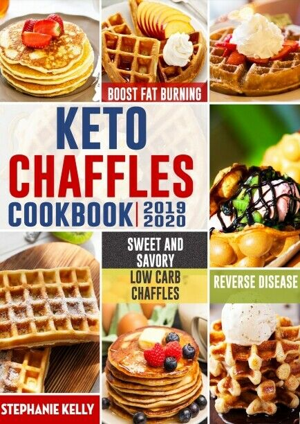$1.49 • Buy Keto Chaffles Cookbook Simple, Sweet And Savory Low Carb Chaffles P.D.F