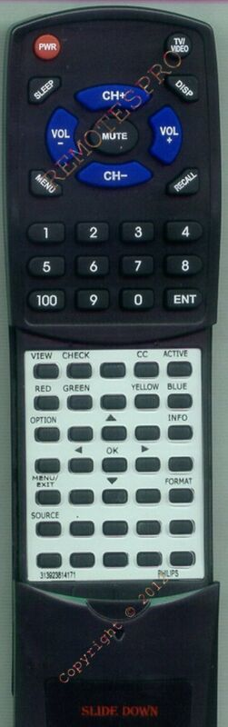 $29.97 • Buy Replacement Remote For PHILIPS 47PFL7422D, 42PFL7422D, 32PFL5322D37