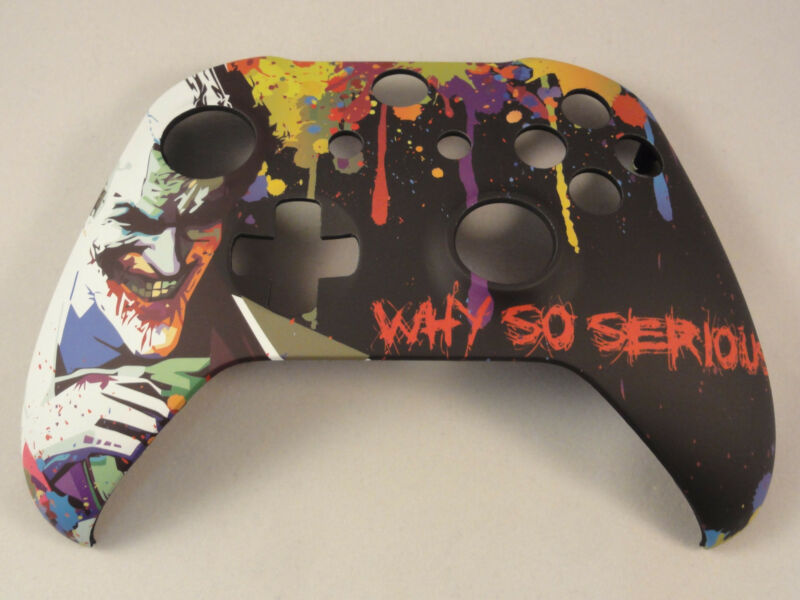 Joker Soft Touch, Front Shell For Xbox One S Controller - New - Model 1708 • 15.99$