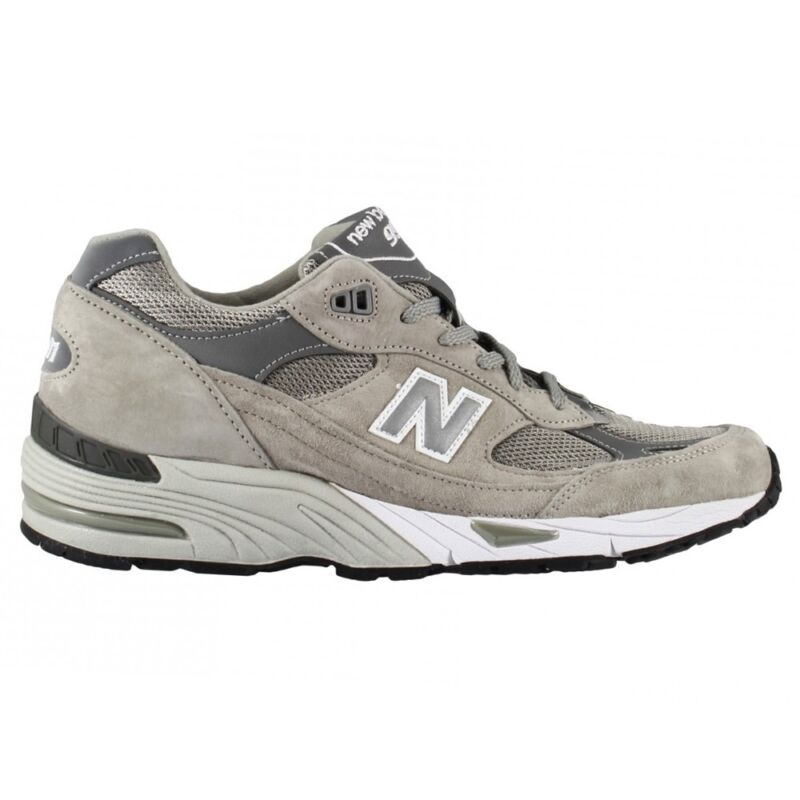 a443bcd4942a6 New Balance 991 Gl Made In Uk Scarpa Running Lifestyle Sneaker Uomo Grigio  Grey • 169.00