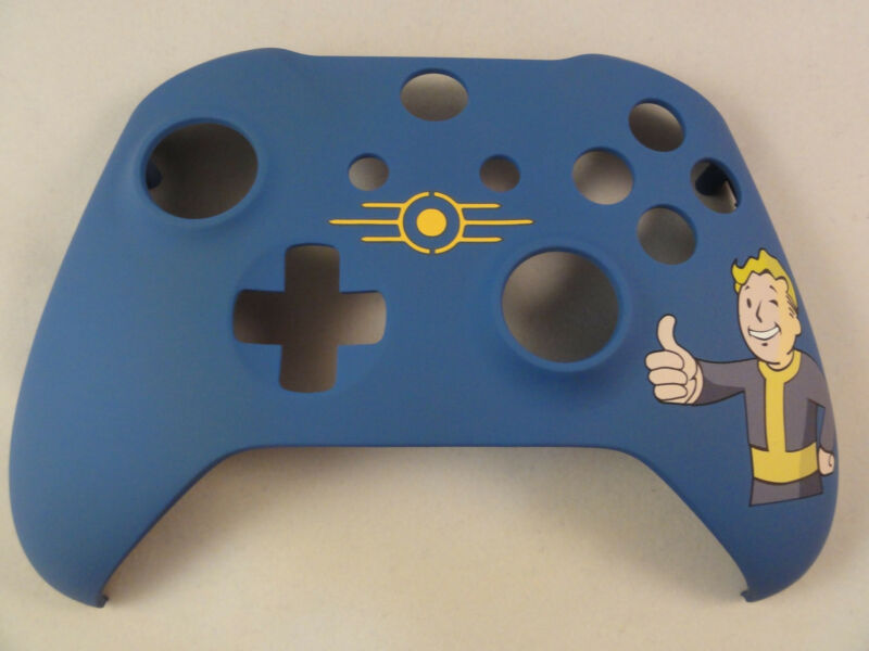 Fallout Boy Soft Touch Front Shell For Xbox One S Controller  - New - Model 1708 • 19.99$