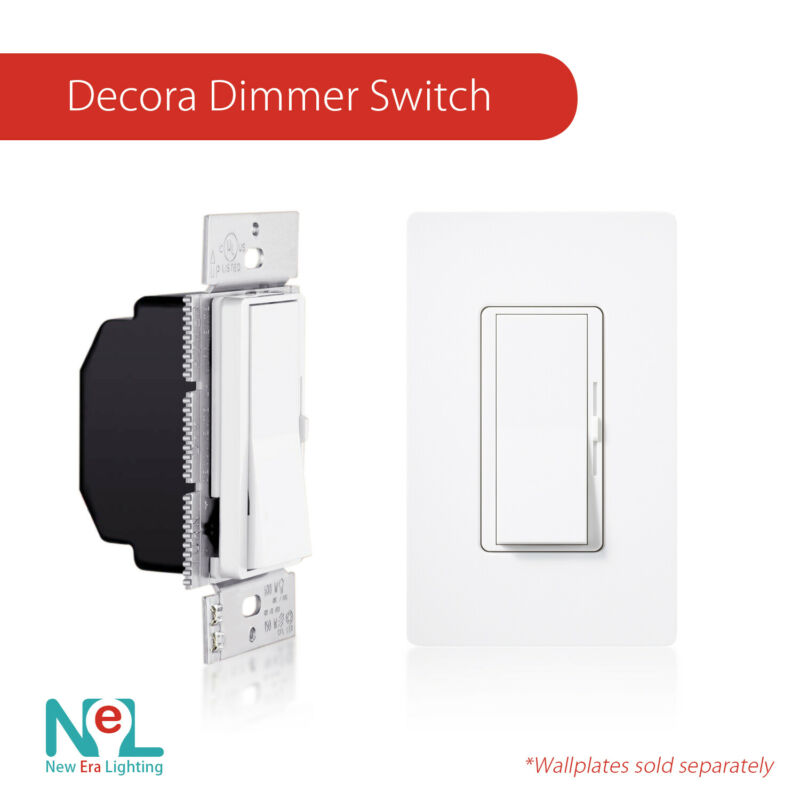 Dimmer Light Switch & 3-Way Dimmer - LED Dimmer Switch - LED 150W /CFL 600W • 10.85$