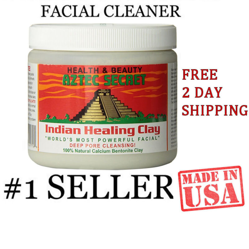 AU16.38 • Buy AZTEK SECRET INDIAN Healing Clay Deep Pore Cleansing Natural Face Care 1 Pound