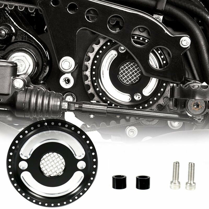 Front Pulley Guard Driver Engine Cover For Harley 2004-2018 Sportster 883 1200 • 15.28$