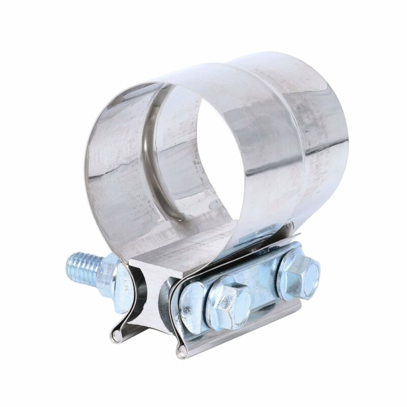"""NEW 2/""""Stainless Steel Exhausts Mufflers Lap Joint Band Clamp Auto Accessories"""