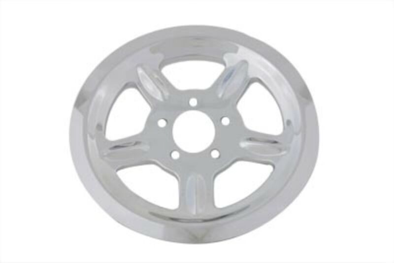 Chrome Cover For Rear 68 Tooth Pulley Harley Sportster 04-19 • 44.95$