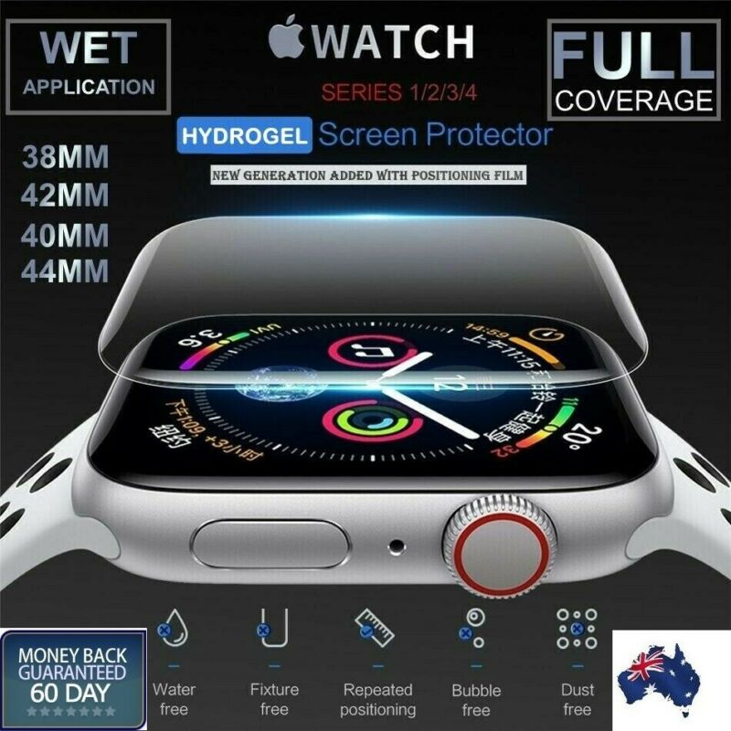 AU3.95 • Buy For Apple Watch Series 1/2/3/4/5 38/42mm 40/44mm IWatch Screen Protector