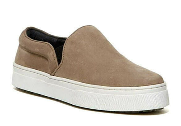 $ CDN51.24 • Buy Schutz Amisha Chamois Leather Slip On Sneakers New In Box ~ Size 8 M